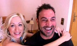 Superbe blonde portugaise ouvre ses cuisses à un espagnol sauvage